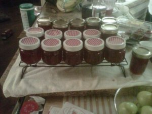 Jam Jars: Photo by Linda Myers