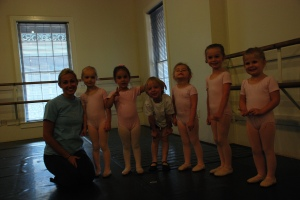 Sam's ballet class. I know it's dark. The photo ops weren't the greatest.