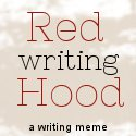 Red Writing Hood