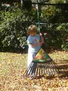 Exhibit A: Daughter with Rake